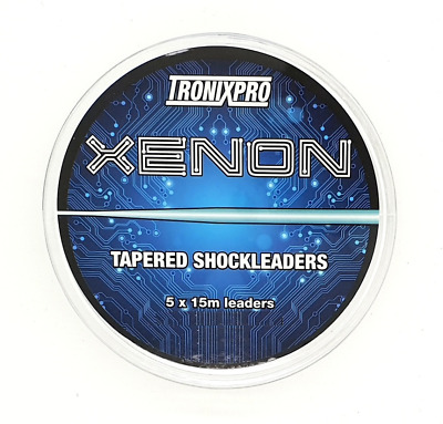 TronixPro Xenon Tapered Shock Leaders Clear • 6.49£