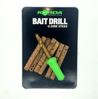 Korda Bait Drill & Cork Sticks • 5.99£