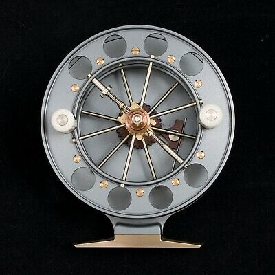Chris Lythe Aerial Centrepin Reel - 1915 Avon - Mint Condition • 1,249£