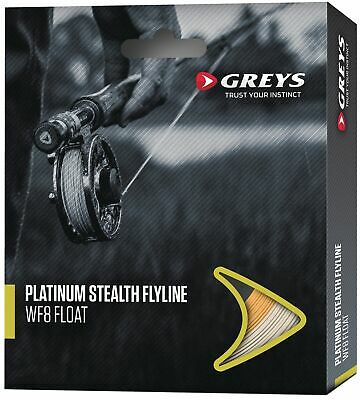 Greys Platinum Stealth Fly  Fishing Lines • 29.95£