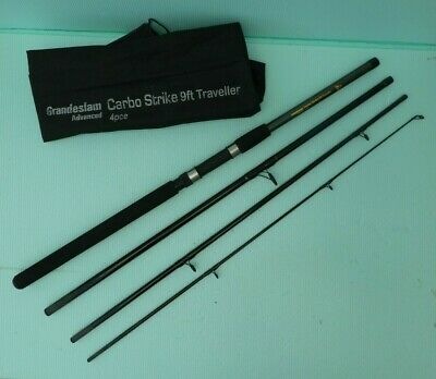 Grandslam Carbo Strike 4 Piece 9' Travel Rod. • 19£