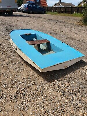 Fibreglass Rowing Boat 7ft Long Restoration Project Puffin River Boat  • 49£