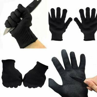 STAINLESS STEEL GLOVES Butchers/Fishermans Filleting/Sea Fishing/Unhooking Fish • 5.99£