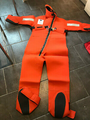 Viking Solas Immersion Suit Thermal Protective Flame Retardant Neoprene • 50£