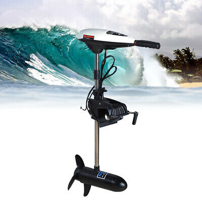 Electric Outboard Brush Motor Thruster Trolling Fishing Boat Engine 12V 45-Pound • 128£