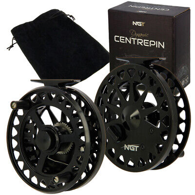 NGT Dynamic Centrepin Coarse River Fishing Lightweight Aluminium 2bb 4.25  Reel • 34.95£