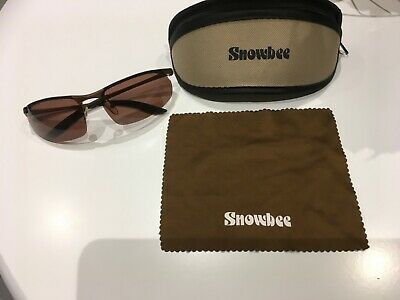 Snowbee Superlight Sports Sunglasses - Fishing Glasses C/W Protective Carry Case • 10£