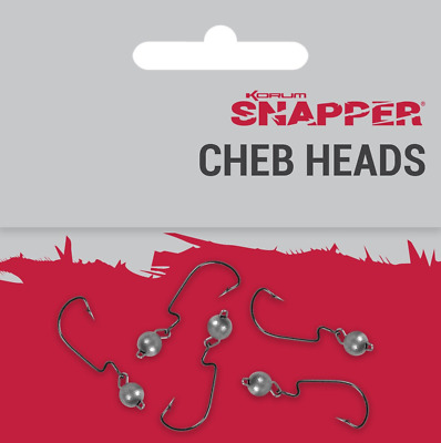 Korum Snapper Cheb Heads - Pay One Post • 2.49£