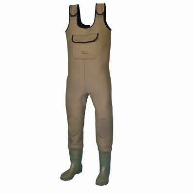 Shakespeare Sigma Neoprene Chest Wader - UK Size 7 ... FREE UK P&P • 54.99£