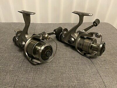 2 X Shimano AERO GTE 5000 B Baitrunner Reels In Perfect Condition • 31£