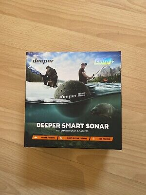 NEW Deeper Smart Sonar CHIRP+ Fish Finder GPS  Chirp Plus Castable Fish Finder • 220£