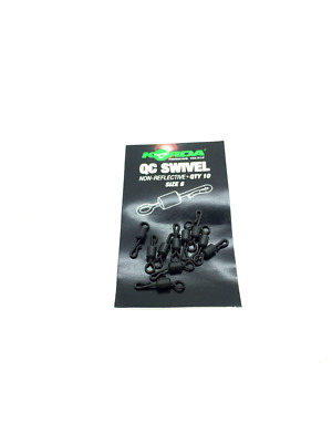 Korda Size 8 Quick Change QC Swivel Pack Of 10 • 4.15£