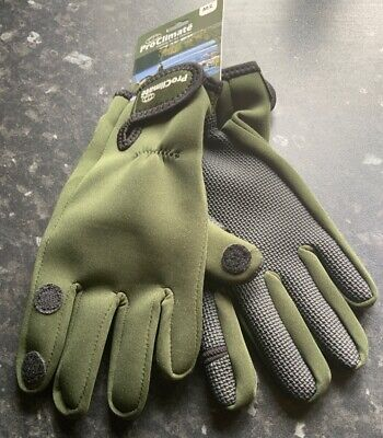 PRO CLIMATE Neoprene Gloves With Trigger Thumb & Finger - Size M/L • 3.99£