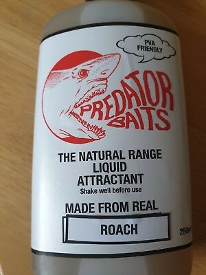 Predator Baits Roach Flavour  Oil , Pva Friendly / Pike Fishing • 3.80£