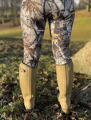 Fishing Hunting Realtree Pattern Camo Leggings Brand New One Size • 25£