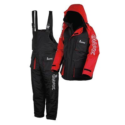 New Imax Thermo Suit 2pc Sea Fishing 100% Waterproof Windproof Boat Shore • 96.95£