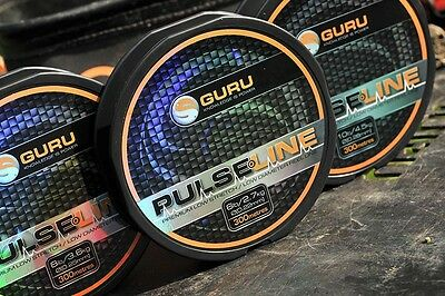 GURU PULSE LINE 300m SPOOLS FISHING LINE ALL SIZES • 8.85£