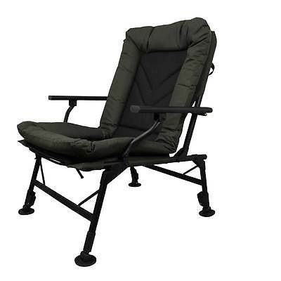 Prologic Comfort Carp Chair With Arms Ultra Padded Fishing Adjustable Legs • 69.95£