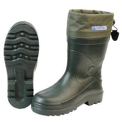Grauvell Alaska Arctic -30 Thermal Fishing Boots All Sizes   RRP £59.95 • 34.95£