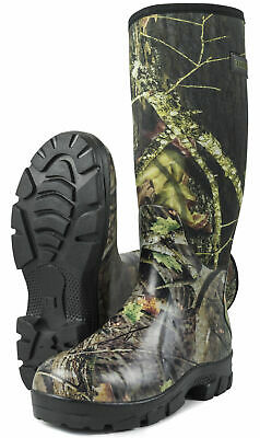 Nitehawk Camouflage Neoprene Fishing/Hunting Wellington Boots • 29.99£