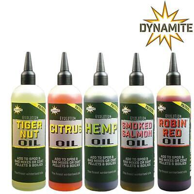 Dynamite Baits Evolution Oils 300ml Carp Match Coarse Fishing • 6.99£