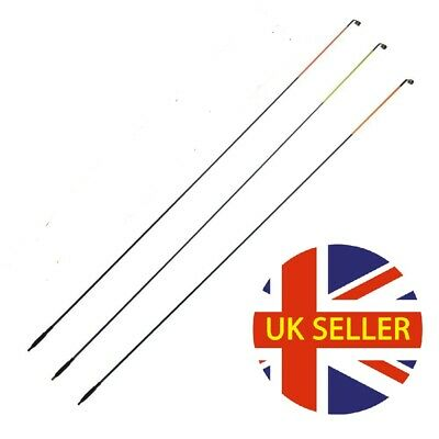 3 Quiver Tips For Coarse,carp,barbel Fishing (screw In) Angling Tackle Post Free • 10.99£