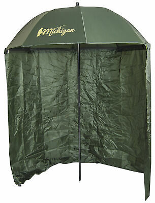 Carp/Sea Fishing Umbrella With Top Tilt And Zipped Sides Brolly Shelter • 37.99£