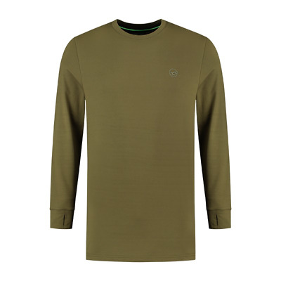 Korda Kore Thermal LS Shirt Green All Sizes New • 24.99£