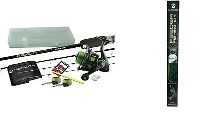 Maver Reality 10ft Feeder OutFit  Kit All You Need To Fish Rod Reel ECT • 78.95£