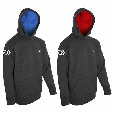 Daiwa Match Hoodie Grey/Blue Or Grey/Red All Sizes Coarse Fishing • 39.99£