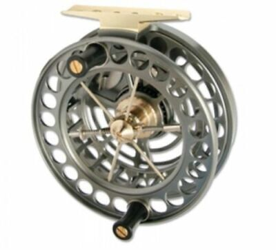 New J W Young Super Lightweight 4.5  X 1  / Centrepin Fishing Reel • 299.95£