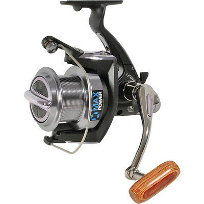 TF Gear NEW Max Power Big Pit Heavy Duty Smooth Drag Carp Fishing Reel Ex Demo • 33£