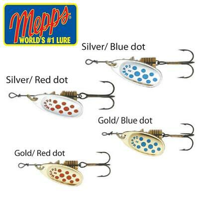 Mepps Spinners Comet - Salmon Sea-trout Perch Pike Fishing Lures • 4.40£