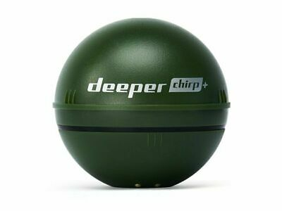 Deeper Smart Sonar CHIRP+ Fishfinder WiFi GPS Military Green NEW 2019 • 239.99£