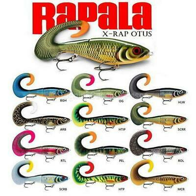 Rapala X-rap Otus 17cm  & 25cm - Choose Size & Colour Pike Predator Fishing  • 15.95£