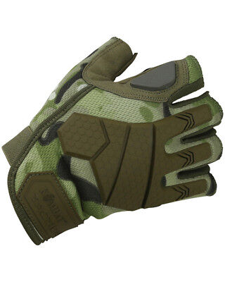 Alpha Fingerless Tactical Gloves - BTP Ideal Fishing/Cycling Gloves (Small) • 12.55£