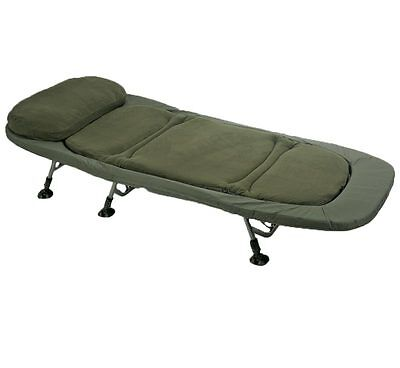 TF Gear Flat Out Carp Fishing Bivvy Bed 3 OR 4 Leg TFG Collapsible Bed Ex Demo • 119.99£
