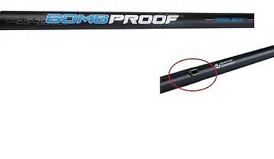 Middy 5.12m Carbon BOMB PROOF MARGIN BEAST Fishing Pole Pulla Side Slot & Bushed • 48.95£