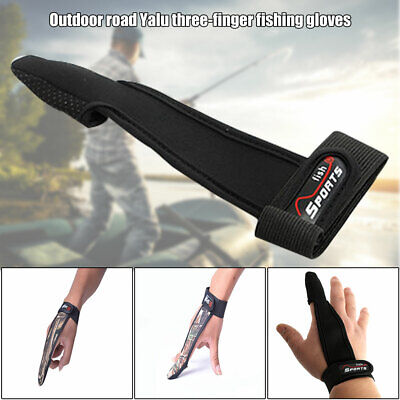 Fishing Gloves One Single Finger Protector Non-Slip Tool Accessories For Outdoor • 6.08£