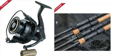 Wychwood Riot Carp Rod Cork Or EVA Handle 9ft Or 10ft + Riot Compact 45s Reel • 154.95£