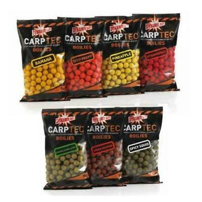 Dynamite Baits Carptec 15 Mm Boilies Session/sample Pack 35 Boilie All Flavours • 2.55£