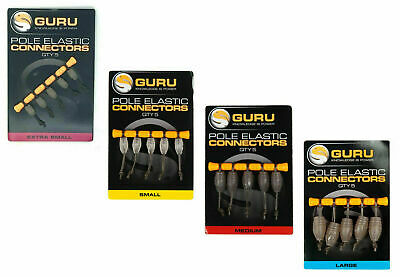 Guru Pole Elastic Dacron Connectors - All Sizes • 4.99£