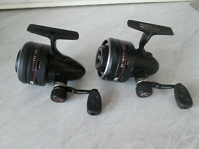 2 X Abu Garcia Premier Syncro 704 Closed Face Reels In Used Condition • 23£