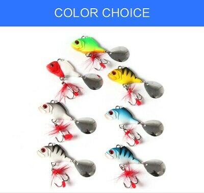 Spintails 18g Fishing Lures - Pike Perch Chub - Spinmad Type • 4.49£