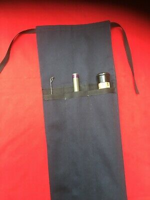 12 Ft. Fishing Rod Bag Cloth Rod Case. 3 Piece Handmade In Yorkshire • 18.99£