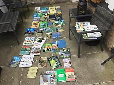 Fishing Gear Job Lot 51 Books Various Course/carp Some Vintage • 19.99£
