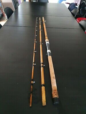 Vintage Bamboo 12ft Canalee Hand Made Fishing Rod  • 60£