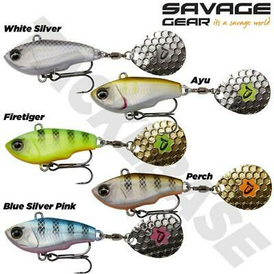 Savage Gear Sinking Fat Tail Spin Lures - Pike Predator Lure Fishing • 6.49£