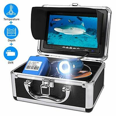 Cold Water Fishing Camera, Fish Finder System With DVR Recorder Water Depth And • 229.69£