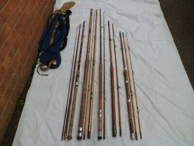 5 Vintage Fishing Rods • 70£